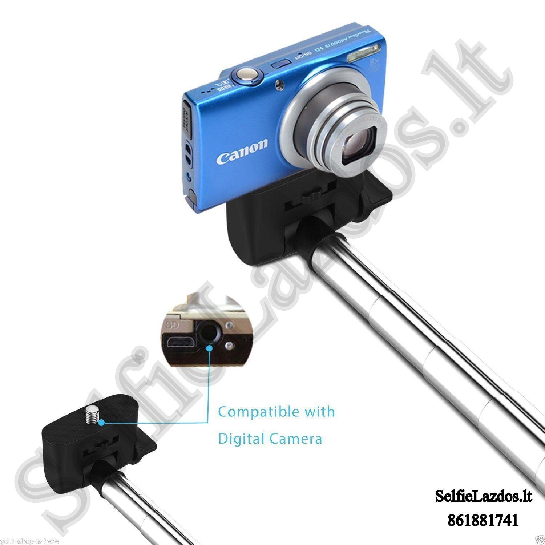 selfie lazda,selfie lazdos, asmenukiu teleskopinė lazda, laidine asmenukiu lazda, asmenukiu lazda su laidu, kameros laikiklis, teleskopinis laikiklis, lazda kamerai, go pro lazda, kameros laikiklis, gopro priedai, go pro priedai